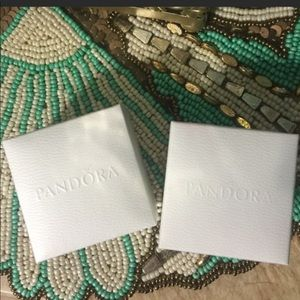 Accessories - Pandora white ring boxes